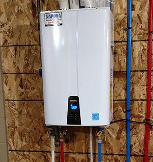 Tankless Hot Water Installs Rochester NY